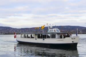 MS J.J.Rousseau auf dem Zürichsee