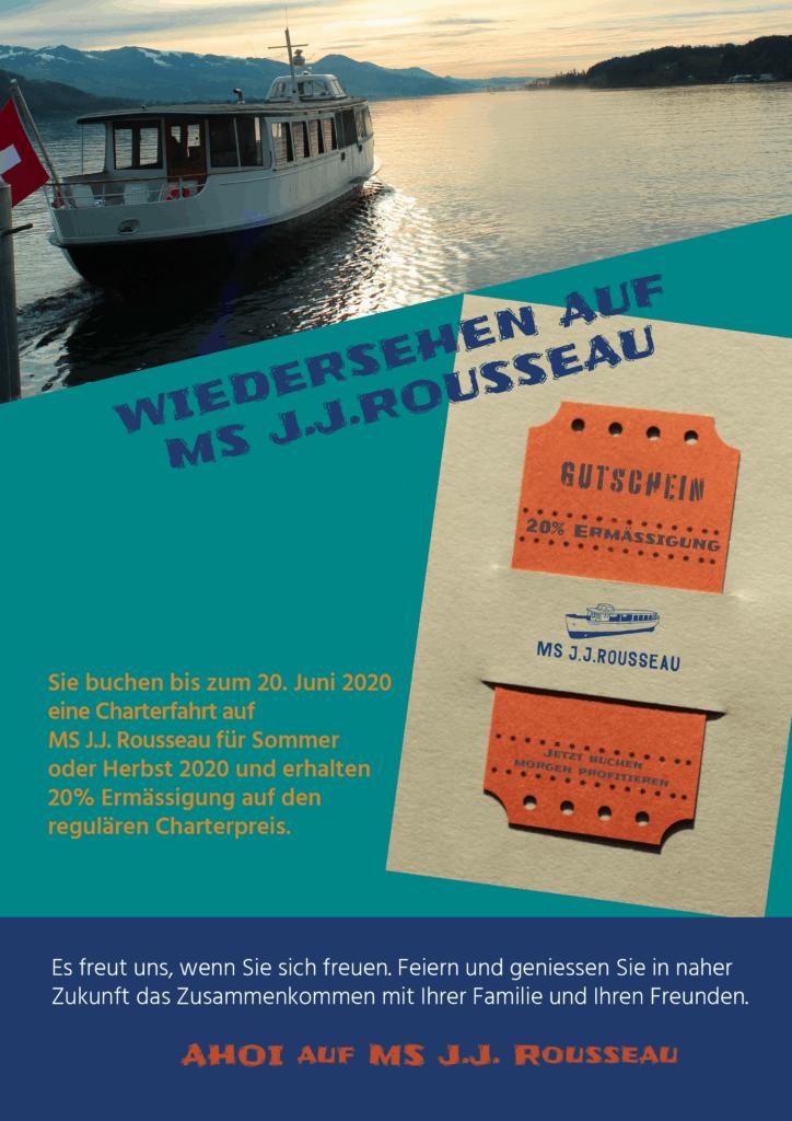 Schiff J.J.Rousseau chartern